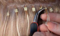 Холодное наращивание волос на дому